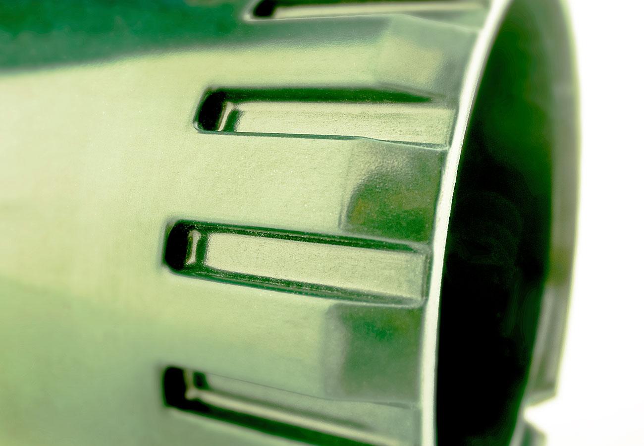 Duroplast-Kolben